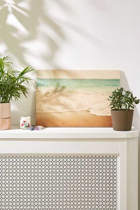 Bree Madden For DENY Ombre Beach Wood Panel