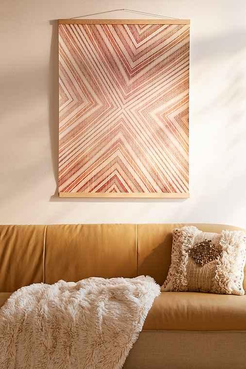 Iveta Abolina For DENY Sedona Creeks Art Print,RED,30X40