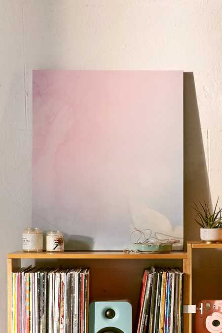 Emanuela Carratoni For DENY Serenity And Rose Canvas Wall Art