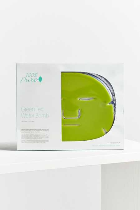 100% Pure Green Tea Water Mask 5 Pack