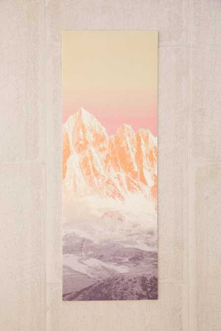UO Trippy Mountain Yoga Mat