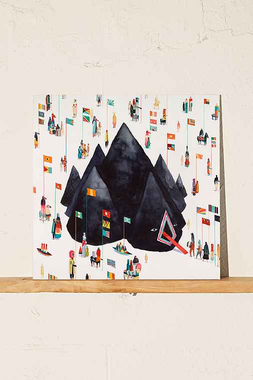 Young The Giant - Home Of The Strange LP,BLACK,ONE SIZE