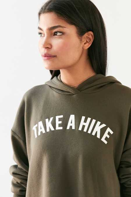 Project Social T Take A Hike Hoodie Sweatshirt