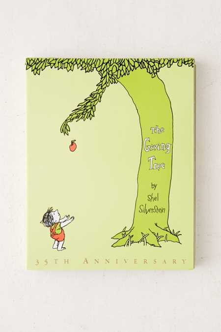 The Giving Tree 35th Anniversary Special Edition By Shel Silverstein