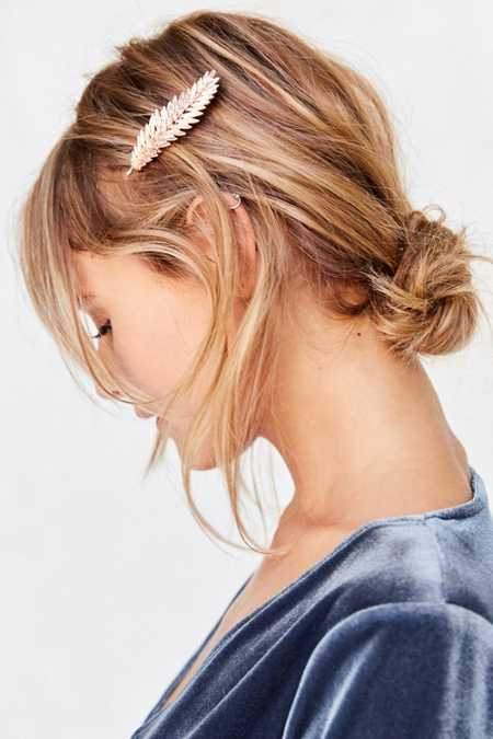 Feathered Hair Clip