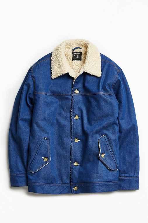 UO Denim Barn Coat,INDIGO,XL