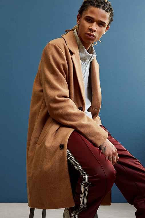 UO Elias Top Coat,LIGHT BROWN,XS