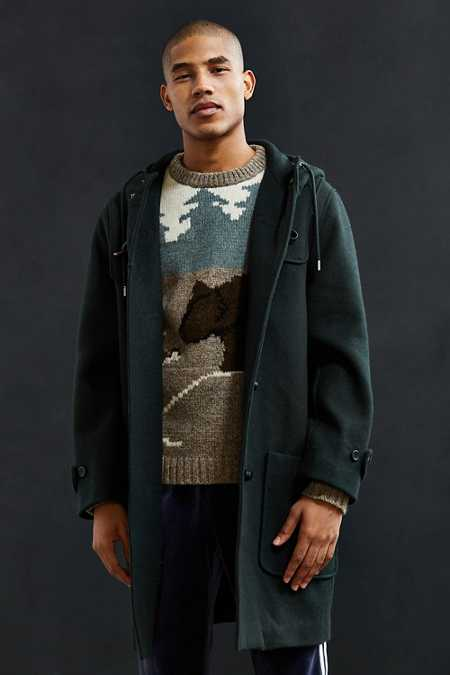 UO Toggle Duffle Coat