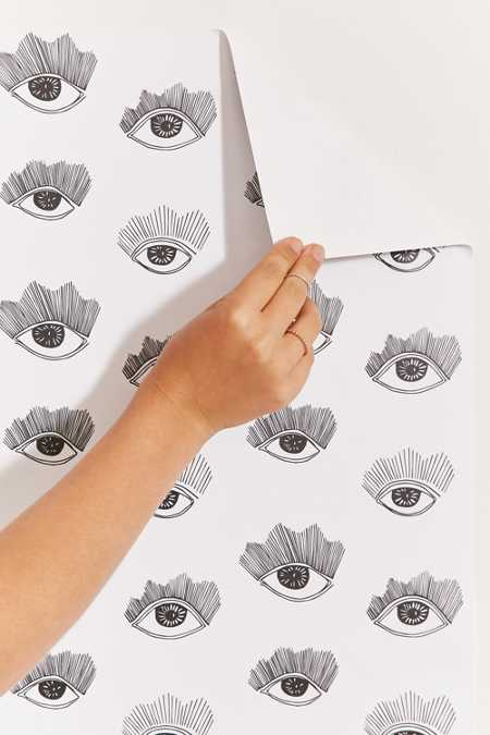 Chasing Paper And Kate Zeremba Bright Eyes Removable Wallpaper