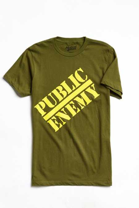 Public Enemy Logo Tee