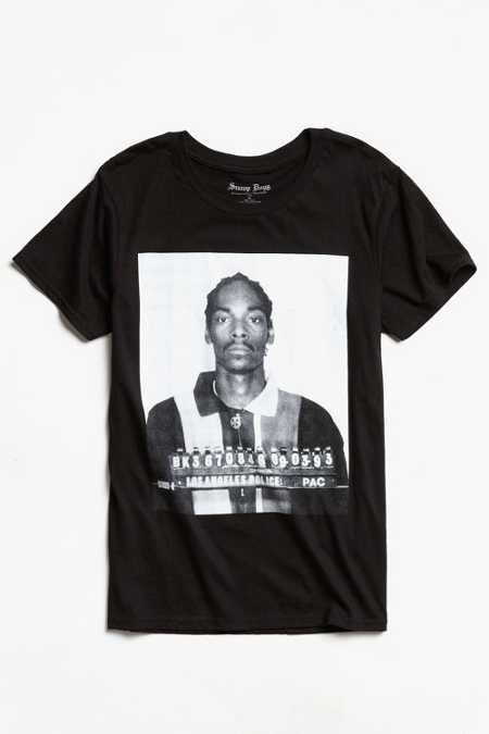 Snoop Dogg Mug Shot Tee