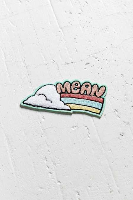 Tuesday Bassen Mean Rainbow Sticker Patch