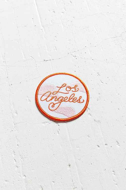 Tuesday Bassen Los Angeles Sticker Patch,WHITE,ONE SIZE