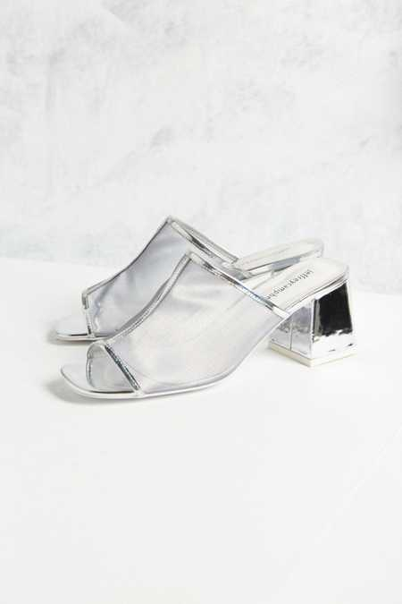 Jeffrey Campbell Derry Metallic Mule