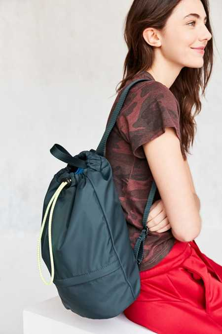 Ripstop Drawstring Backpack