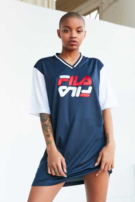 FILA + UO Bibi Baseball Mini Dress