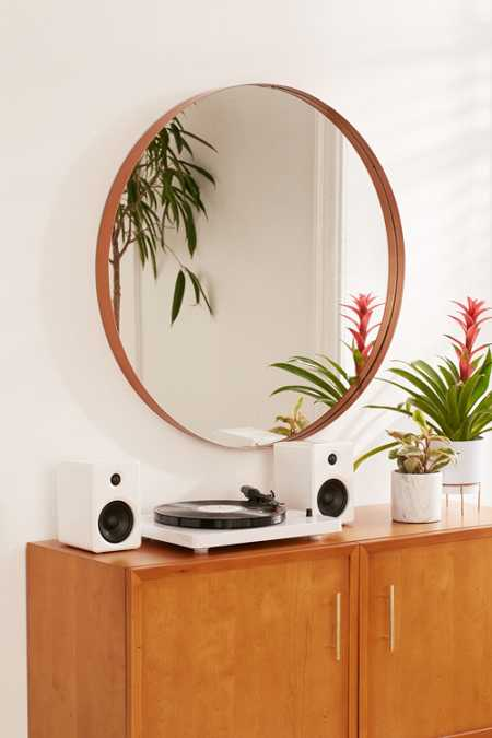 Averly Large Circle Mirror