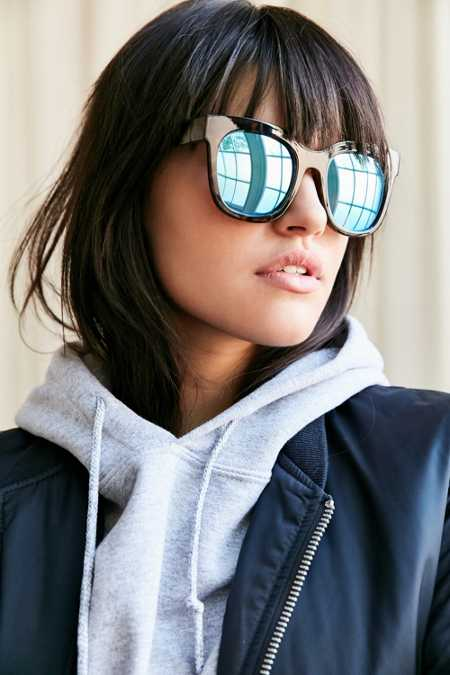 Quay Sagano Square Sunglasses