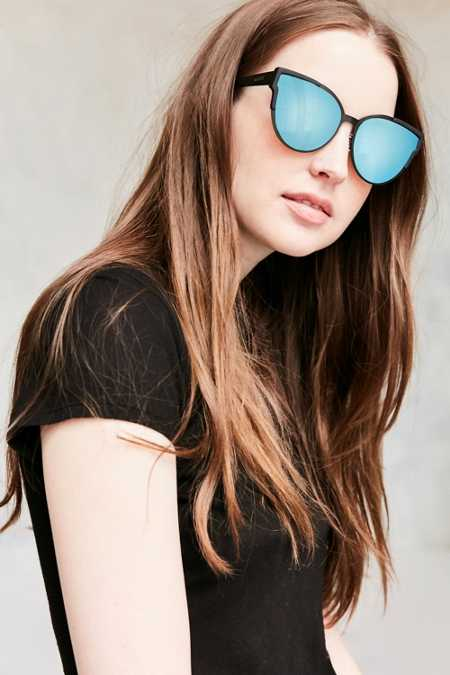 Quay Game On Cat-Eye Sunglasses