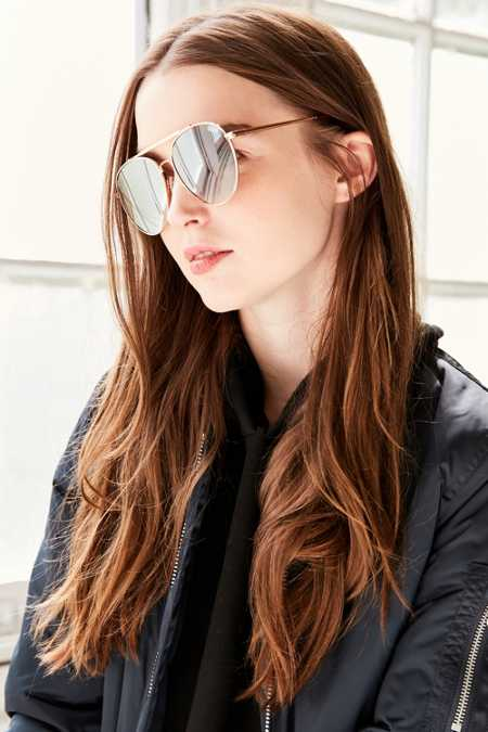 Quay Lickety Split Aviator Sunglasses