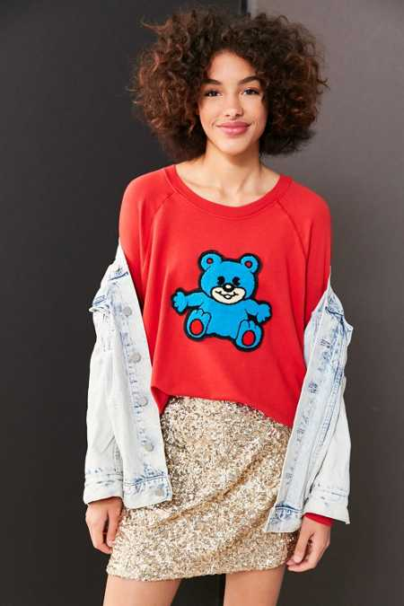 Truly Madly Deeply Plush Teddy Sweatshirt