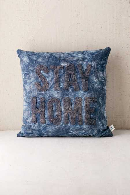 Stay Home Pillow