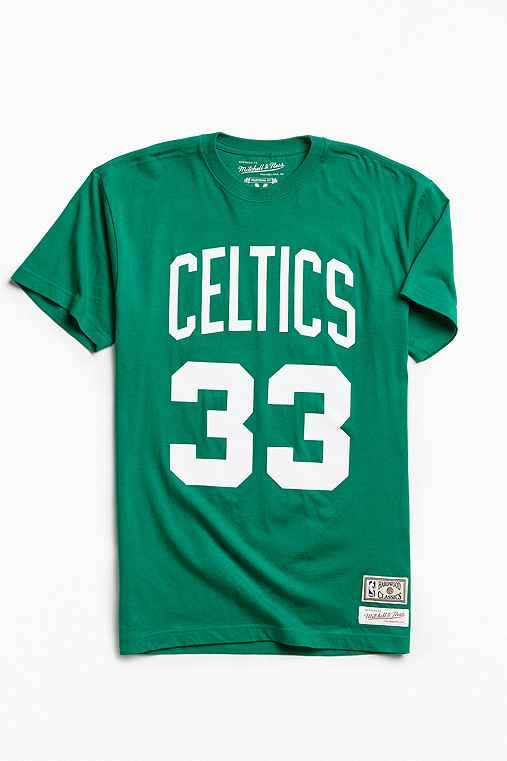 Mitchell & Ness Boston Celtics Larry Bird Tee,GREEN,L