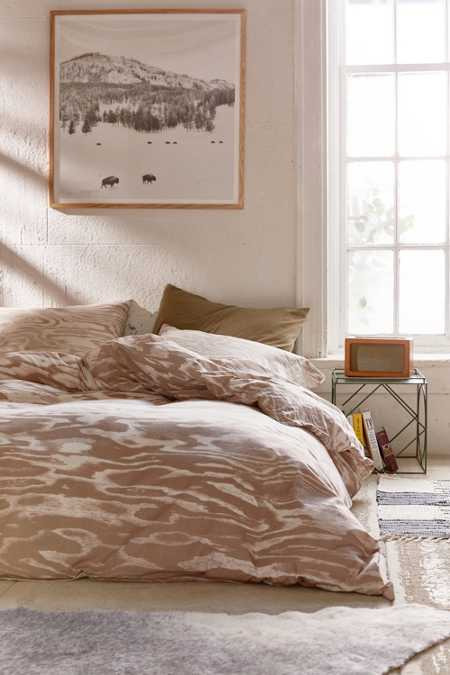 Printed Plywood Duvet Cover