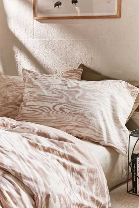 Printed Plywood Pillowcase Set