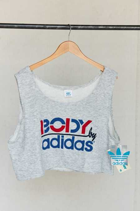 Vintage adidas Body Cropped Top