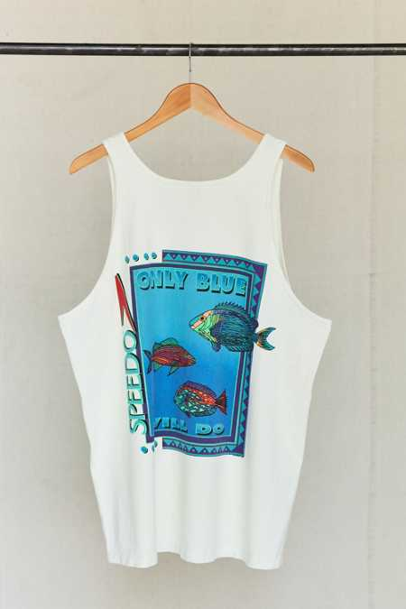 Vintage Speedo Graphic Tank Top