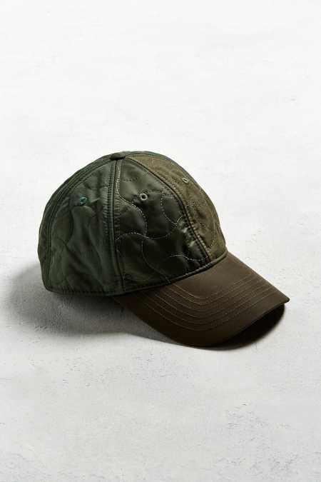 UO Quilted Military Baseball Hat
