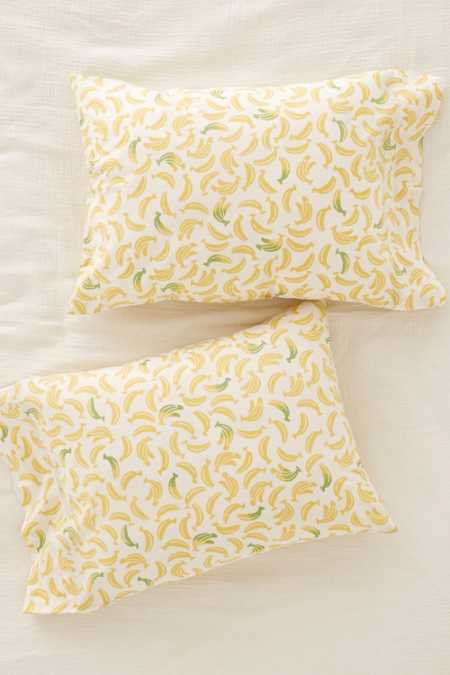 Banana Pillowcase Set