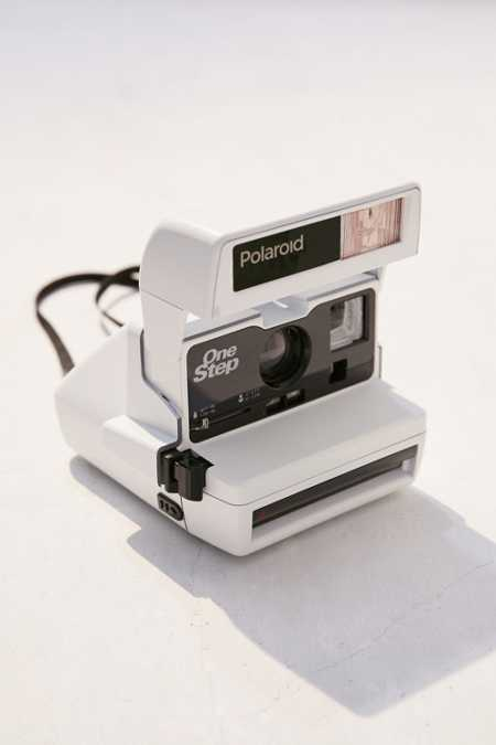 UO Custom Impossible One Step Camera - White