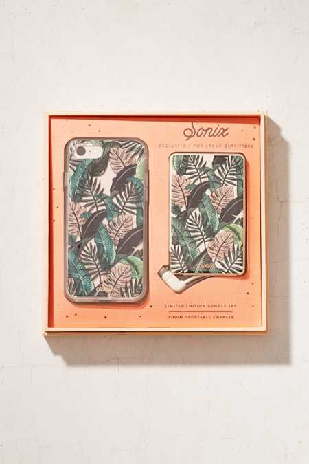 Sonix X UO Urban Jungle iPhone 7 Case + Poratable Power Gift Set