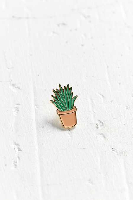 Bermuda Press Aloe Lapel Pin