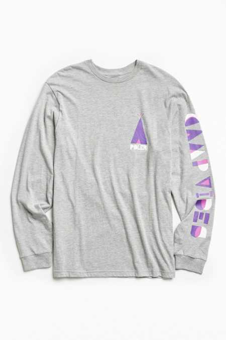 Poler Woodcut Long Sleeve Tee