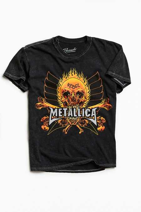 Metallica Fire And Ice Tee