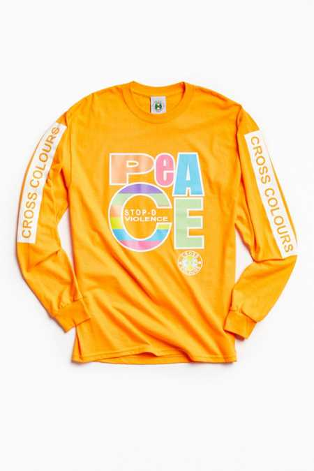 Cross Colours Peace Long Sleeve Tee