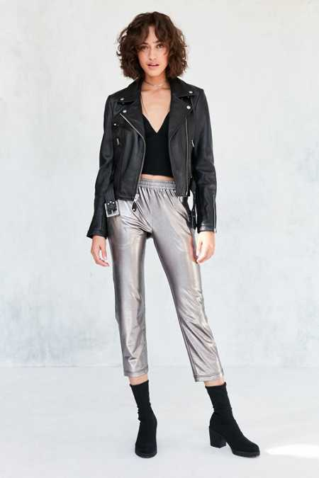 Silence + Noise Sedona Metallic Pull-on Pant