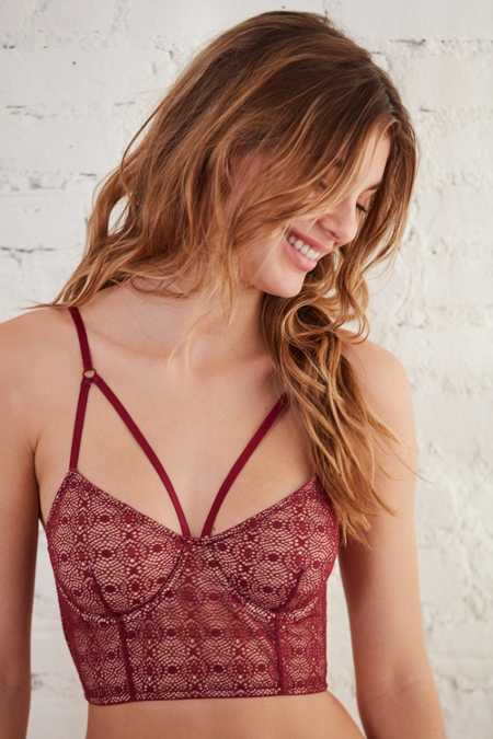 Out From Under Larissa Strappy Lace Longline Bra