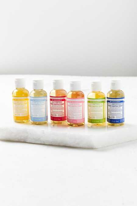 Dr. Bronner's Small Pure-Castile Liquid Soap Set