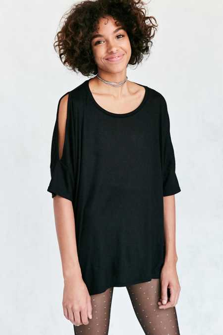 Project Social T Bree Cold Shoulder Tee