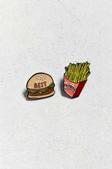Valley Cruise Press X UO Burger And Fries Pin Set