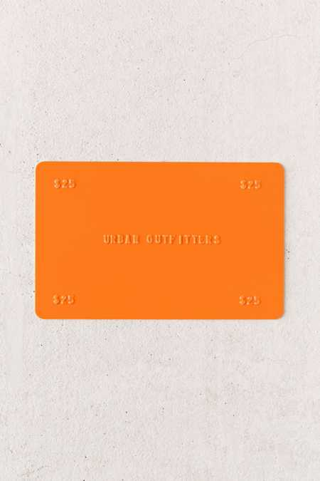 Fashion forward clothing and home accessories are yours with an Urban Outfitters gift card, but make sure you check your Urban Outfitters gift card balance before you shop at any of their brick-and-mortar locations or online store.