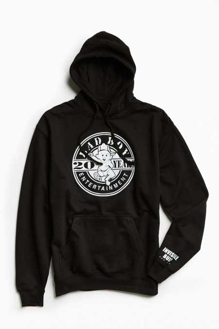 Bad Boy Records Hoodie Sweatshirt