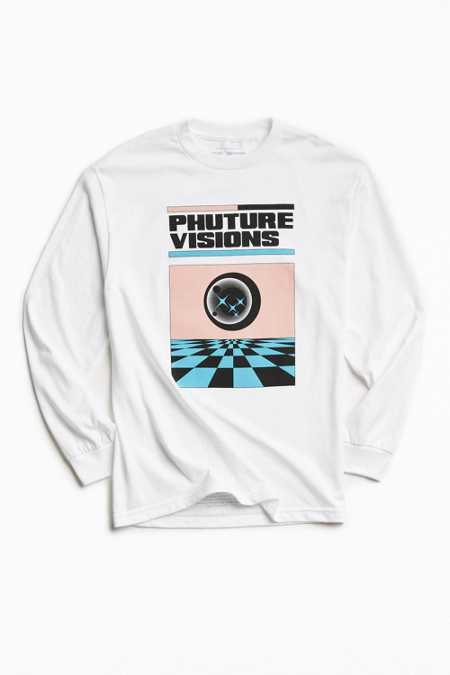 UO Artist Editions Victoria Hutto Phuture Visions Long-Sleeve Tee