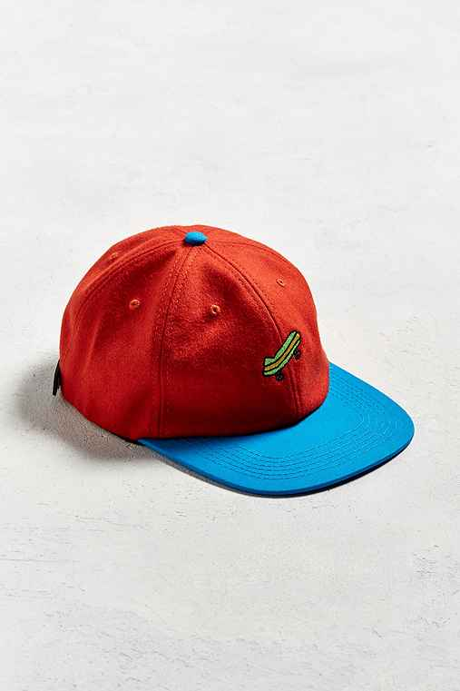 Illegal Civilization Sk8 Baseball Hat,ORANGE,ONE SIZE