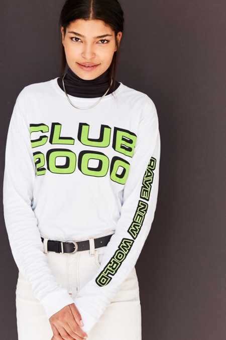 Silence + Noise Club 2000 Long-Sleeve Tee