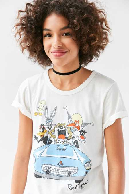 Junk Food Looney Tunes Road Trippin' Tee